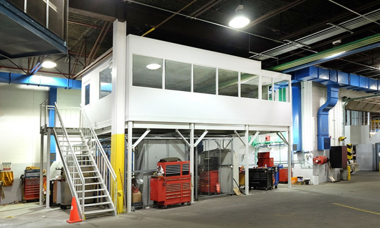 Modular In Plant Offices for TTC